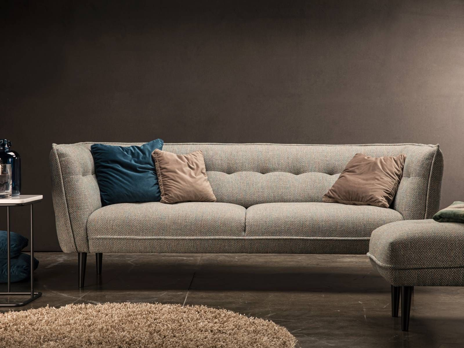 Theca asolo we bought it today in leather cognac home pinterest living rooms - Canape cognac ...