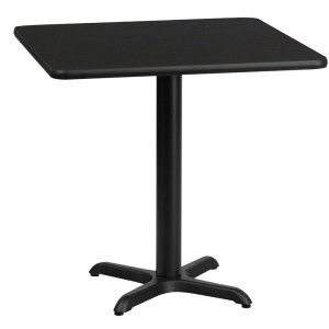 Cafe It 30 X 30 Square Top Sitting Height Break Room Table