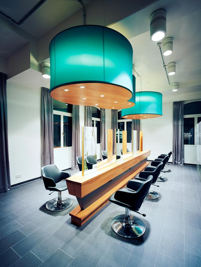 Friseureinrichtung Von Olymp Salon Speyer Mundel Architekten