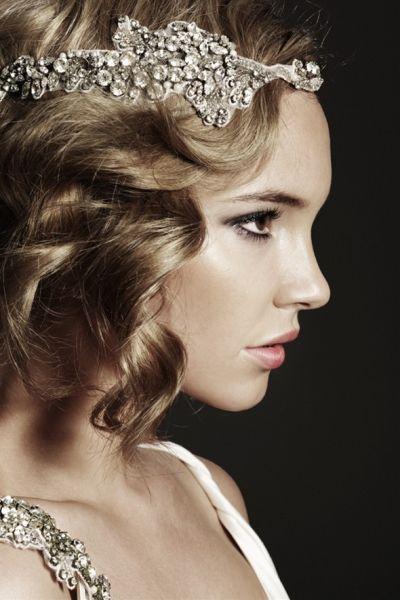 Peinados de novia estilo aріў±os 20