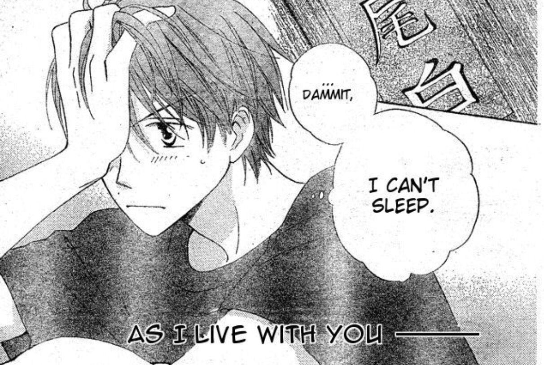 Faster than a Kiss Manga Shouma I cant sleep, Manga