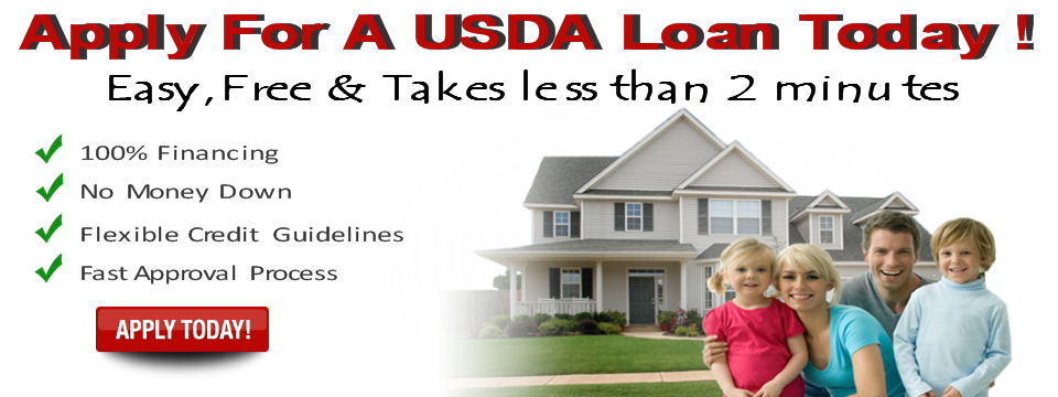 Usda loans offer 100 home financing for eligible for Usda home search