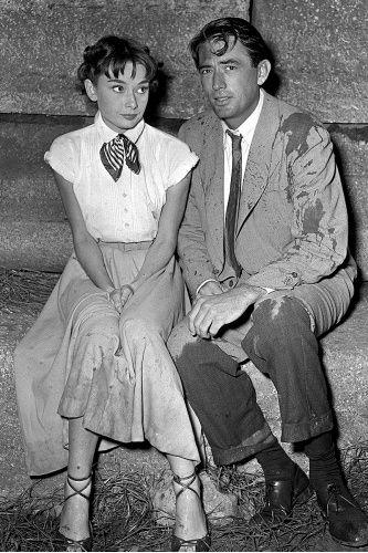 Audrey Hepburn in Roman Holiday :)