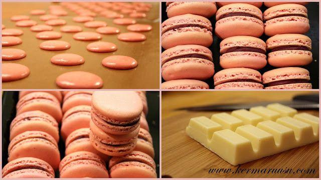 Kermaruusu: Macaron resepti
