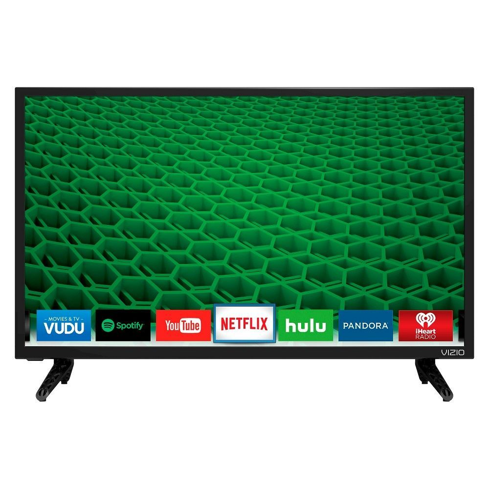 "VIZIO 40/"" Class SmartCast D-Series FHD 1080P Smart Full-Array LED HD TV D40f-F1"