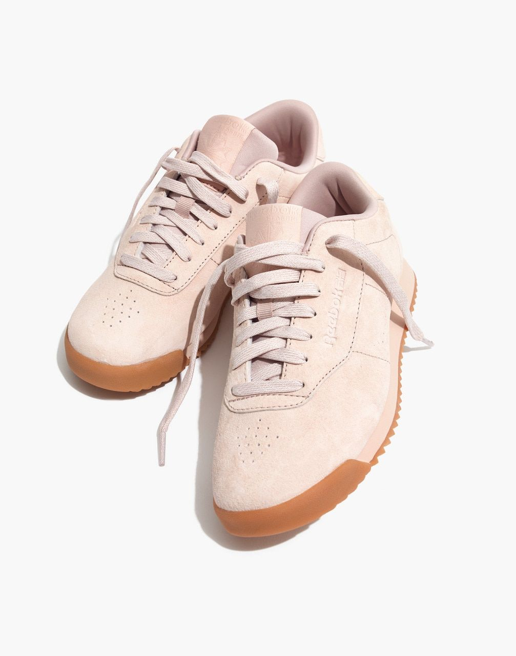 8367a38dc9a4a Reebok® Princess Ripple Sneakers in Pink Suede