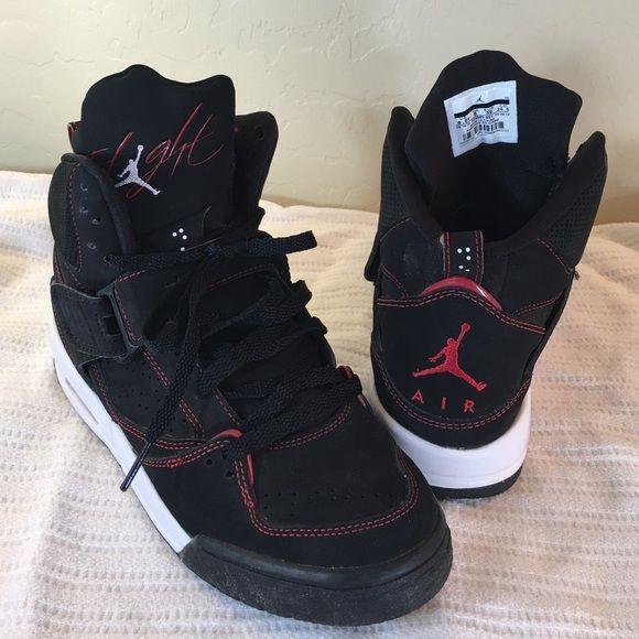 Nike High Top Black Air Jordan Flight