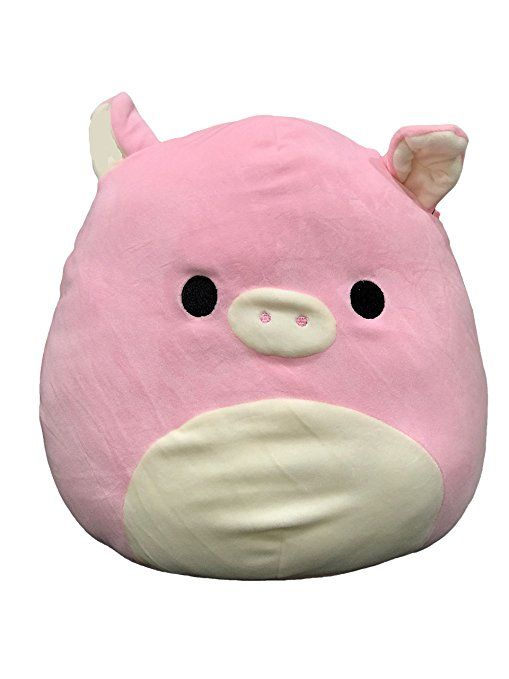 Kellytoy Squishmallow 9 Pink Pig Super Soft Plush Toy Pillow Pet