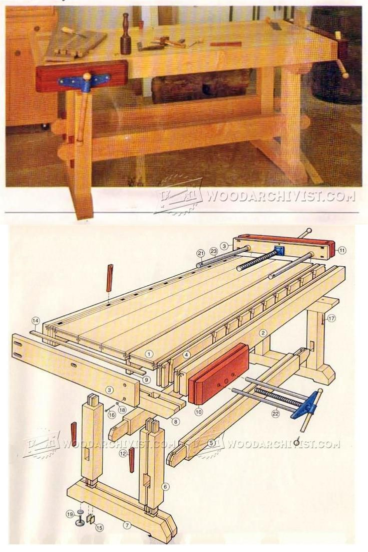 building a workbench - workshop solutions projects, tips and