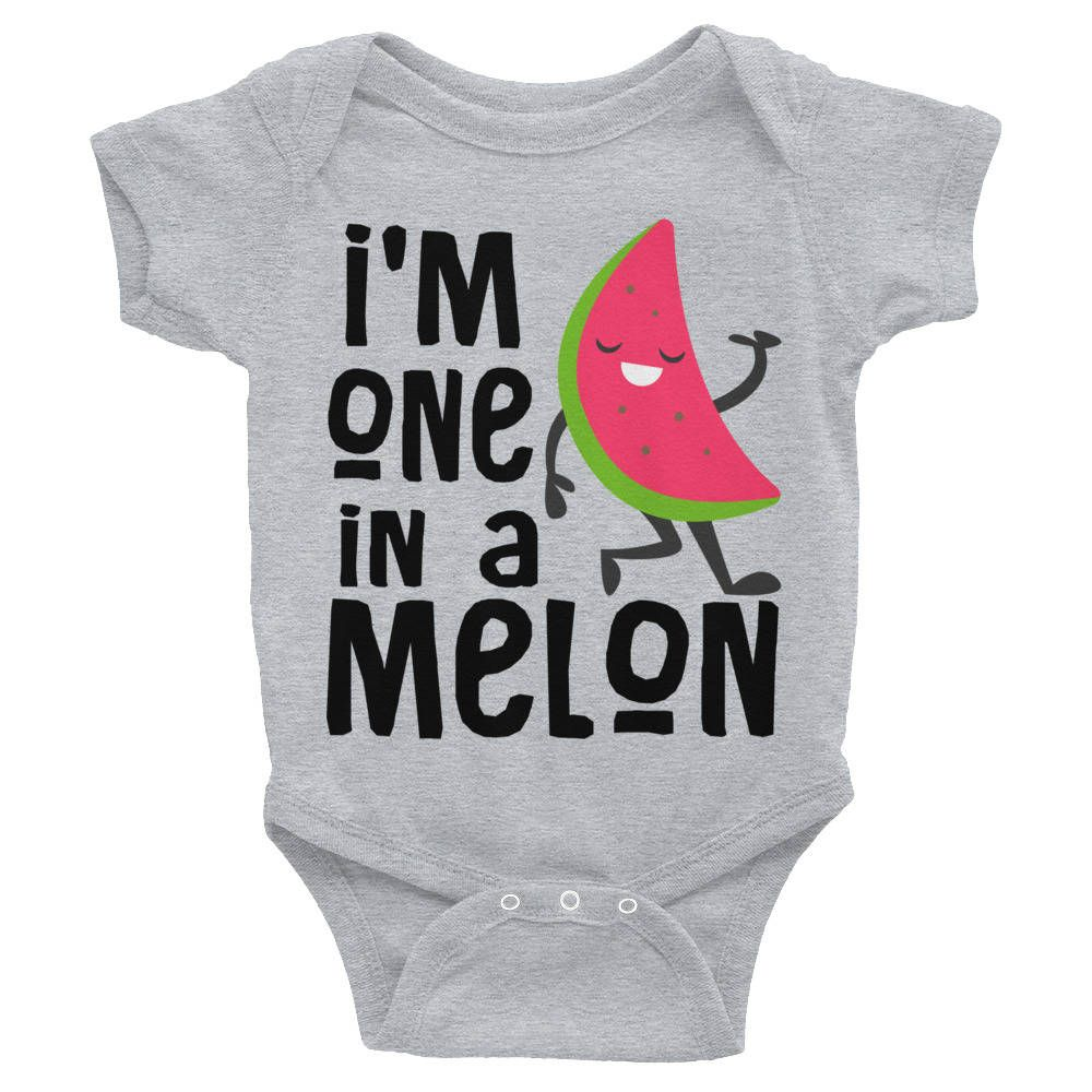 Funny Infant Baby Bodysuit Watermelon Pattern Unisex ALL-OVER PRINT Babygrow
