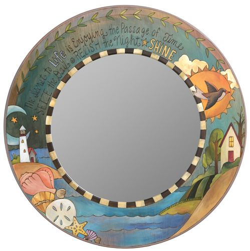 Large Circle Mirror | Sail Away | Pinterest | Large circle ...