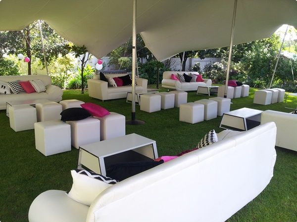 Stretch Tent Couch Umbrella Furniture Hire Wedding Decor In