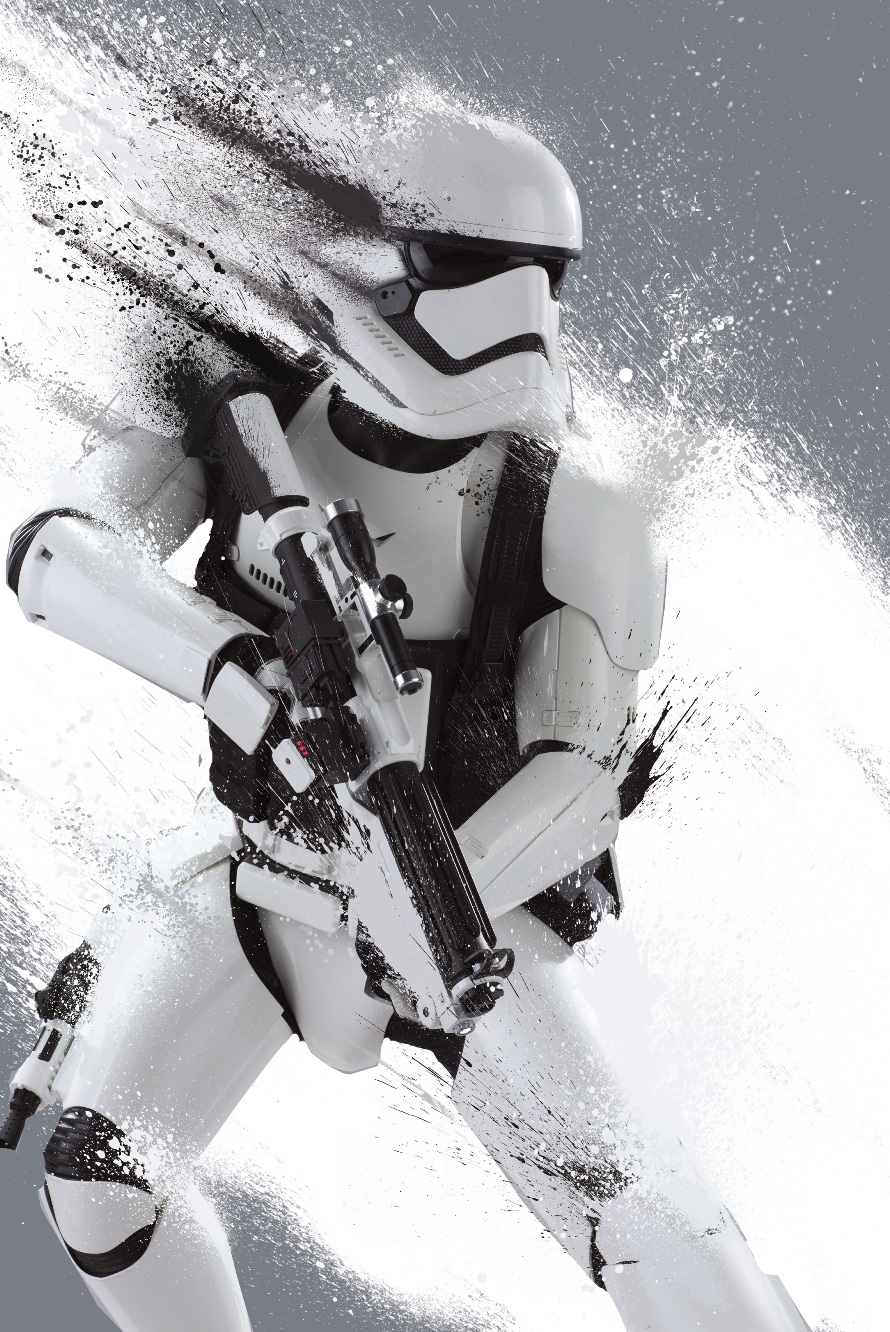 First Order Trooper 3009 X 4500 Px Star Wars Poster Star Wars Episodes Star Wars Episode Vii