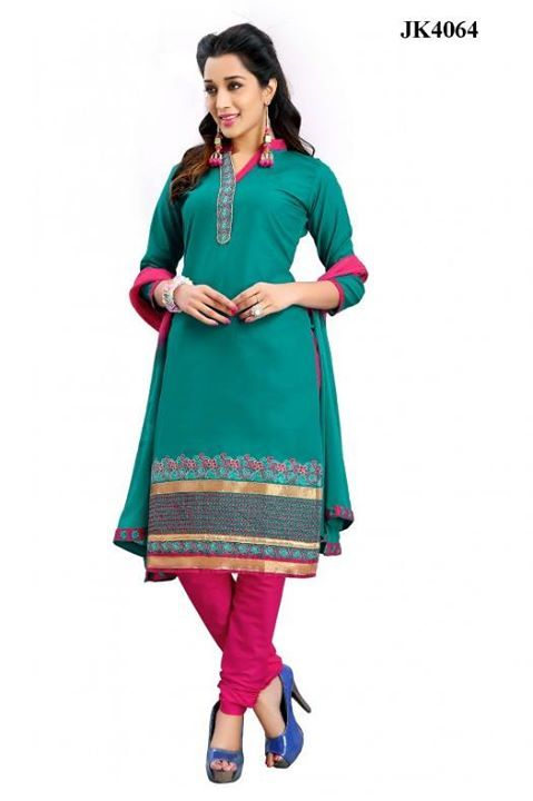 INQUIRY WHATSAPP /  Call- 91 9624913609 Women's Green And Pink Colour Daily Wear Cotton Chudidar Salwar Kameez / Beautiful Party Wear Chudidar Suit http://www.justkartit.com/office-wear-salwar-suitwork-wear-churidar-salwar-kameezoffice-wear-churidar-suitcasual-wear-salwar-kameezcasual-wear-salwar-suitsalwar-suit?utm_source=dlvr.it&utm_medium=facebook&utm_campaign=justkartit #Diwali