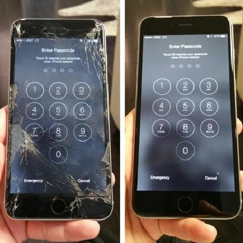 Is Your Iphone 8 Plus Screen Broken Our Trained Techs Will Fix Your Iphone 8 Plus In Few Minutes Call Us 1 870 275 Loja De Celular Tudo De Celular Telefone