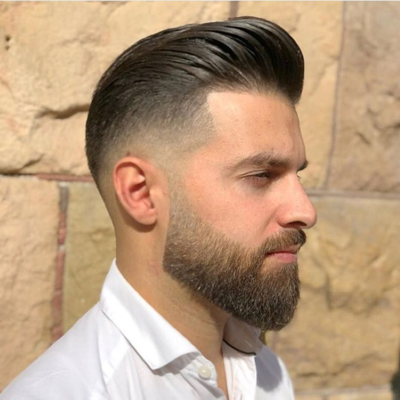 69 Trendy Beard Style For Round Face Men you Must Try #hairandbeardstyles