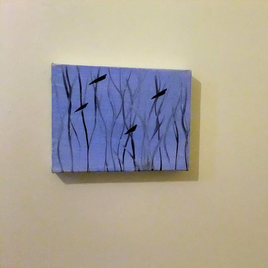 song bird oil painting by greenacre art | notonthehighstreet.com