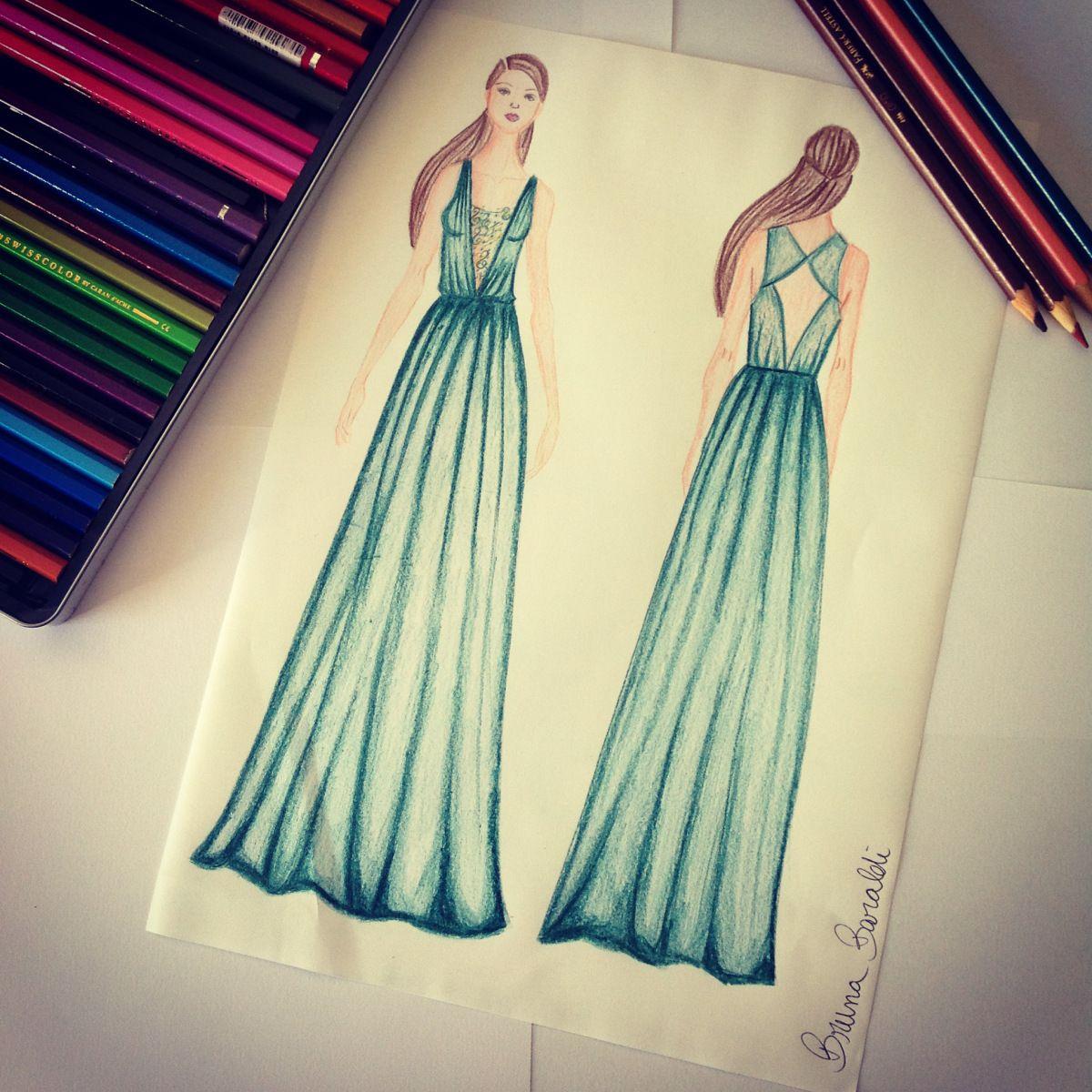 Ateliê Chic Boom Criação De Um Vestido Estilos De