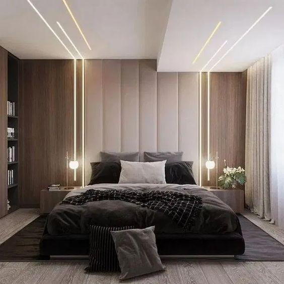 47 Brilliant Scandinavian Bedroom Design Ideas In 2020 Luxury Bedroom Master Ceiling Design Bedroom Luxurious Bedrooms