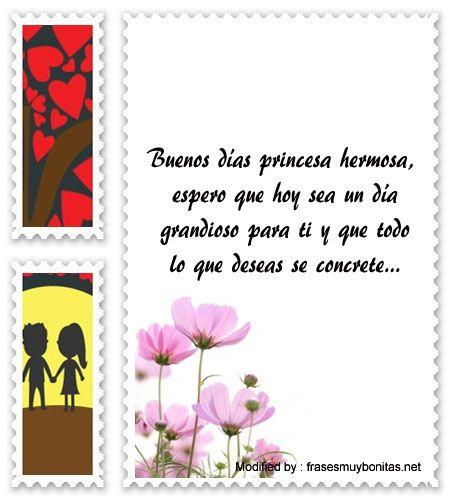 Mensajes De Buen Dia Para Tu Amor Saludos De Buenos Dias