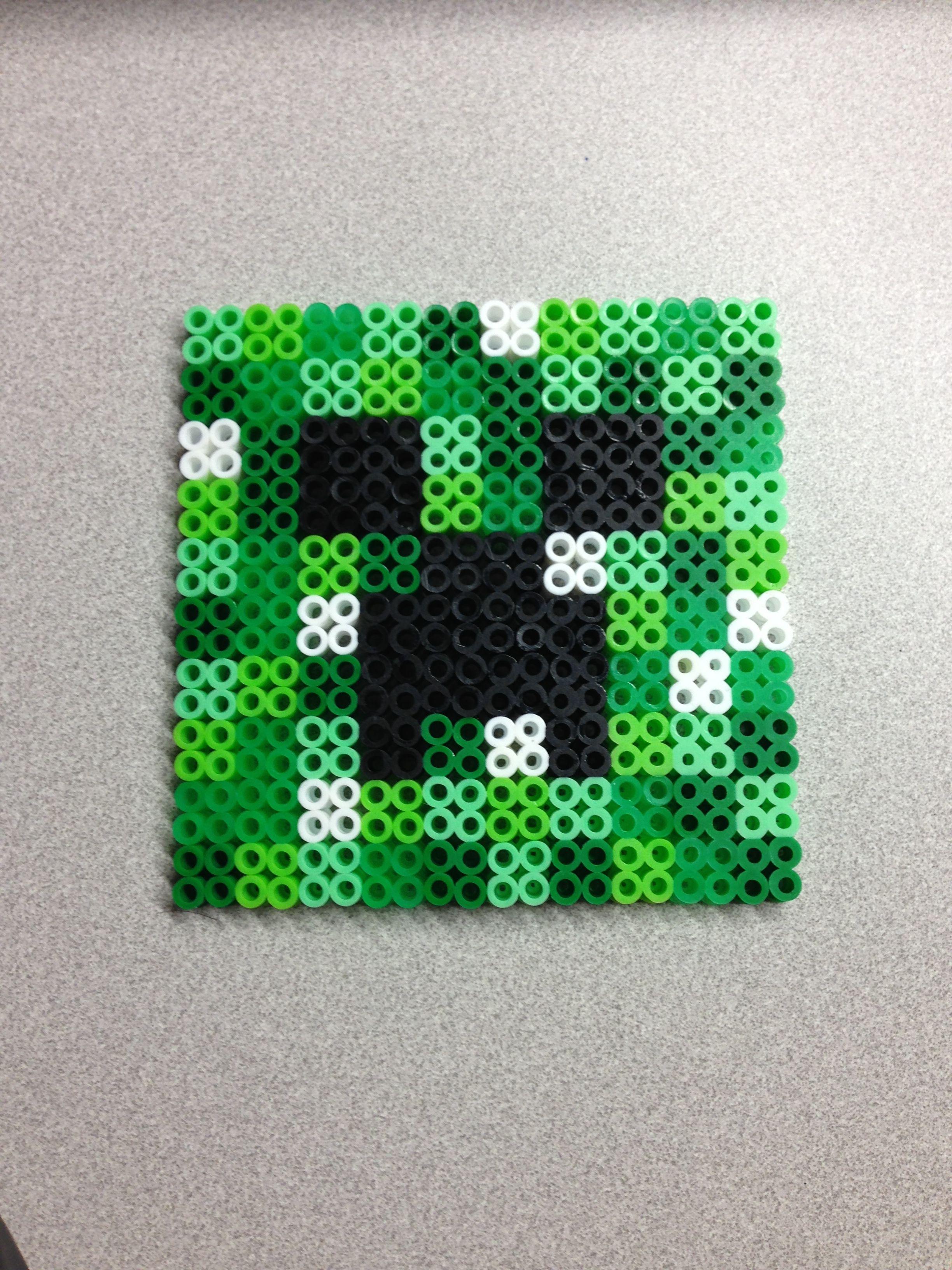 Perler Minecraft Character