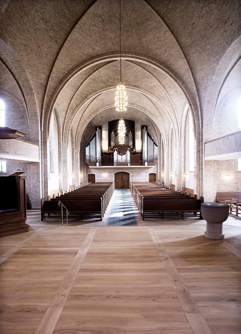 Helleruplund Church (With images) Types of wood flooring