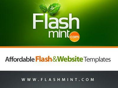 free flash web template
