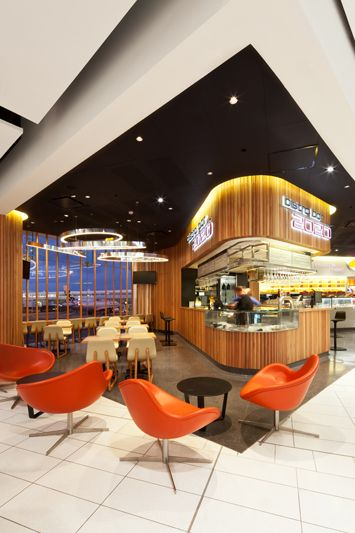 Sydney Domestic T2 Retail Precinct / Noxon Giffen Architects