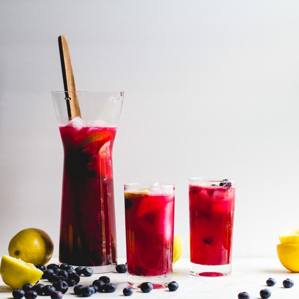 Blueberry + Cardamom Sparkling Lemonade [and Mother's Day reflections] — Sarah J. Hauser | recipes, stories, theology #sparklinglemonade