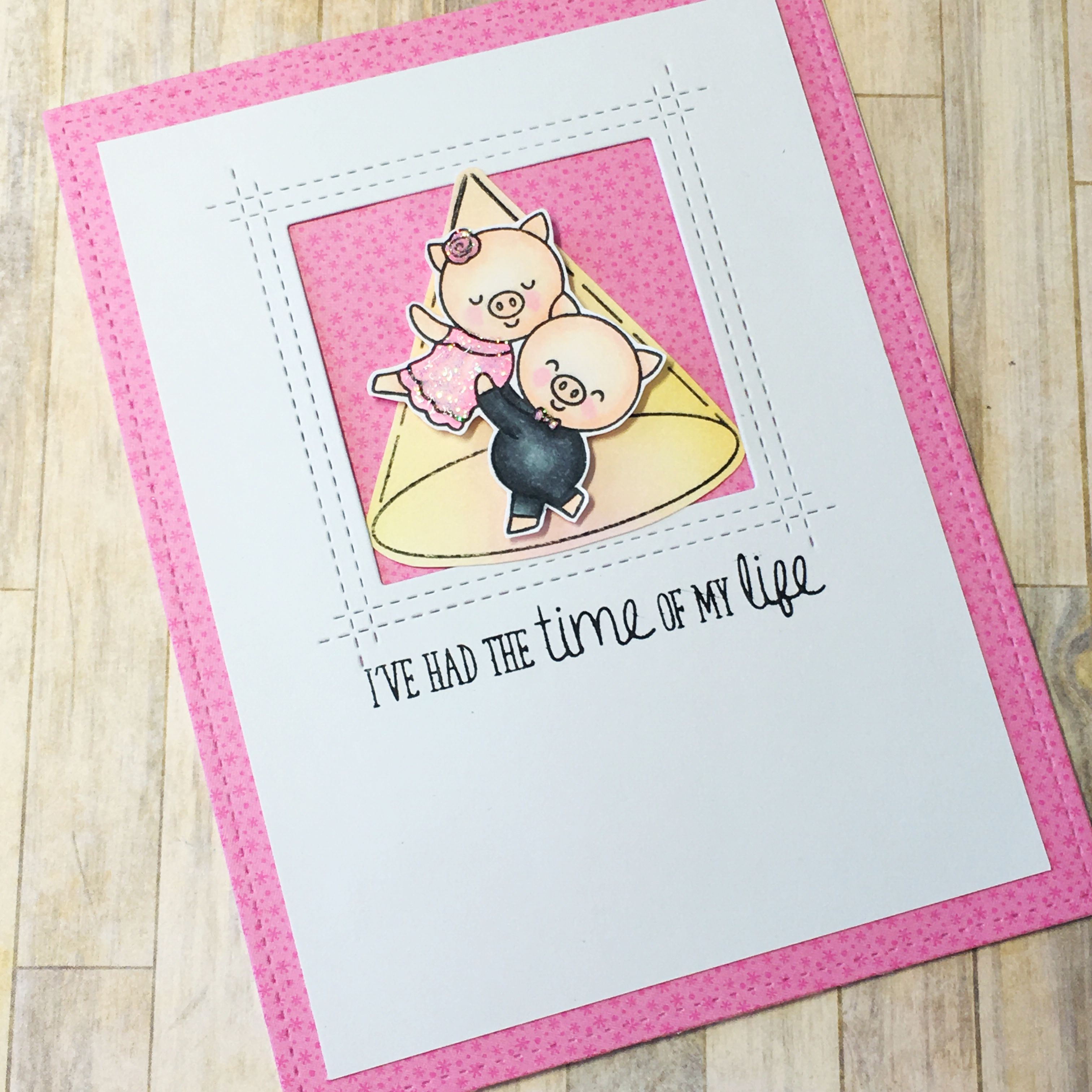 Time of my life dirty dancing inspired card clearly besotted time of my life dirty dancing inspired card clearly besotted chachacha by scrapbena kristyandbryce Gallery