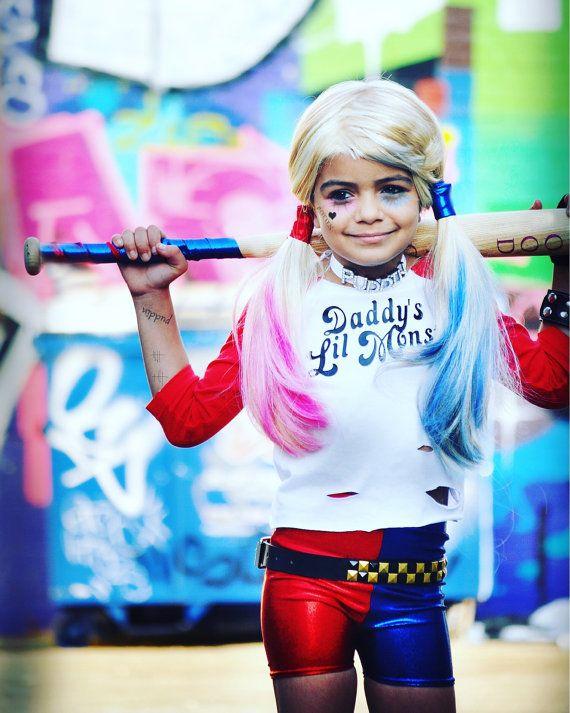 Daddyu0027s Little Monster Tee. comic book inspired by KrabKakes  sc 1 st  Pinterest & Daddyu0027s Little Monster T-Shirt. Harley Quinn. Comic Book Inspired ...