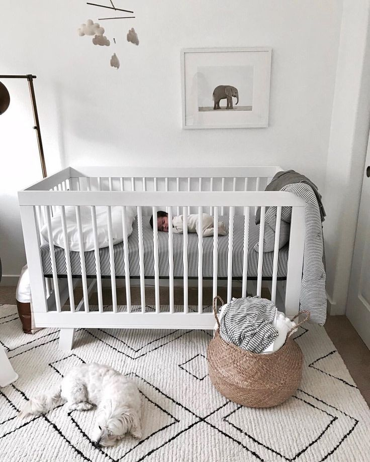 White Nursery With Texture