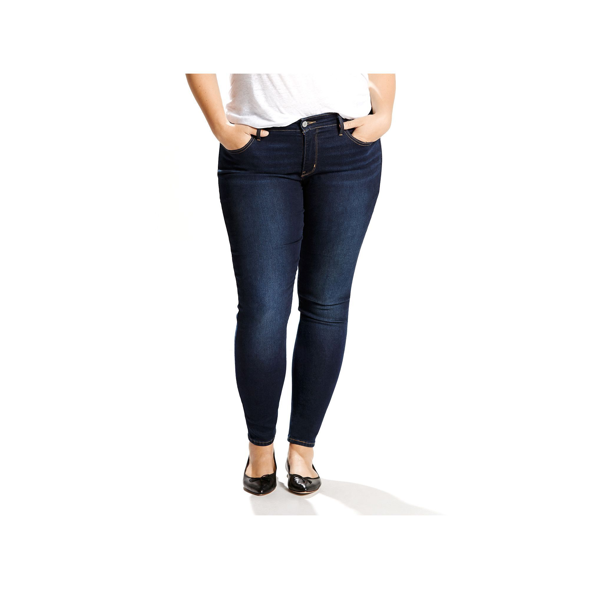 3fe038c3cd51f Plus Size Levi s 310 Shaping Super Skinny Jeans