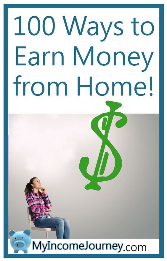 100 Ways to Earn Money from Home!! Blogging, side hustles ...