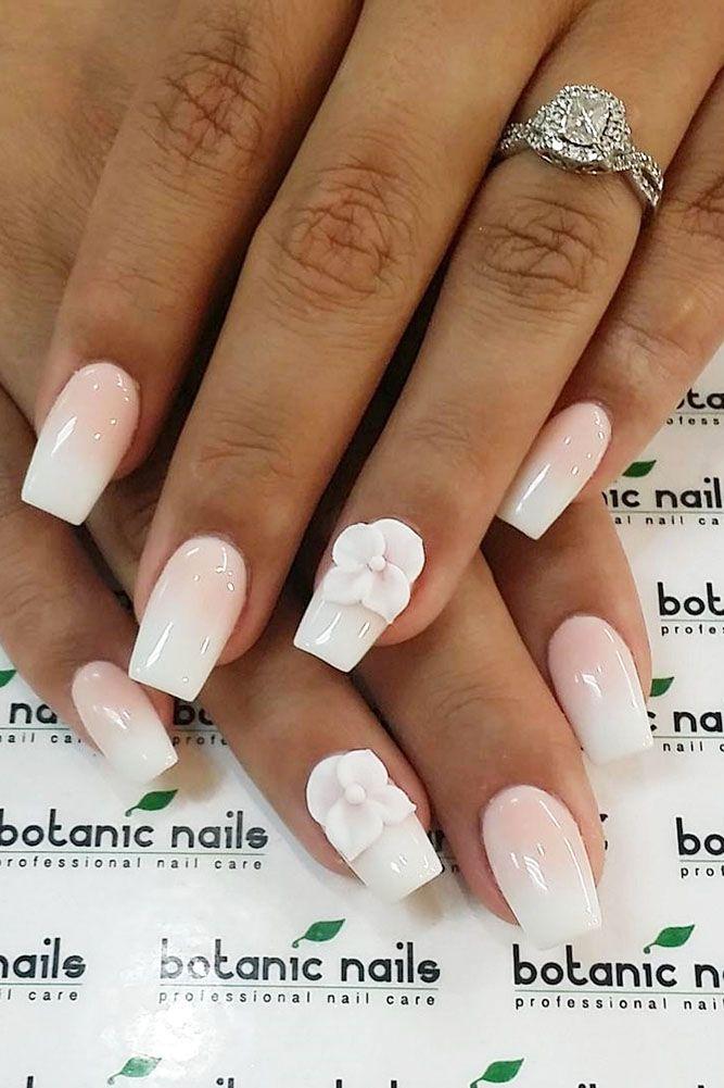 30 Cute Nail Design Ideas For Stylish Brides | Pinterest | Weddings ...