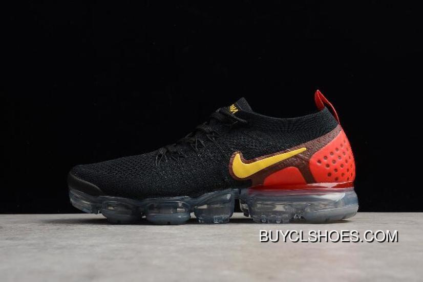 16e33faf1ee Men S Nike Air Vapormax Flyknit 2.0 Laser Orange Black Laser Orange-Total  Crimson