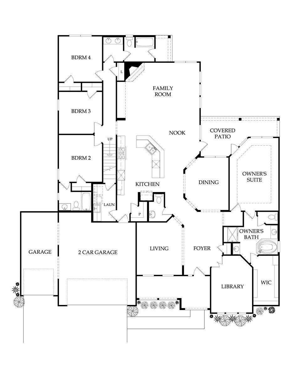 Floor Plans Pulte 1 Story Floor Plans House Floor Plans New House Plans