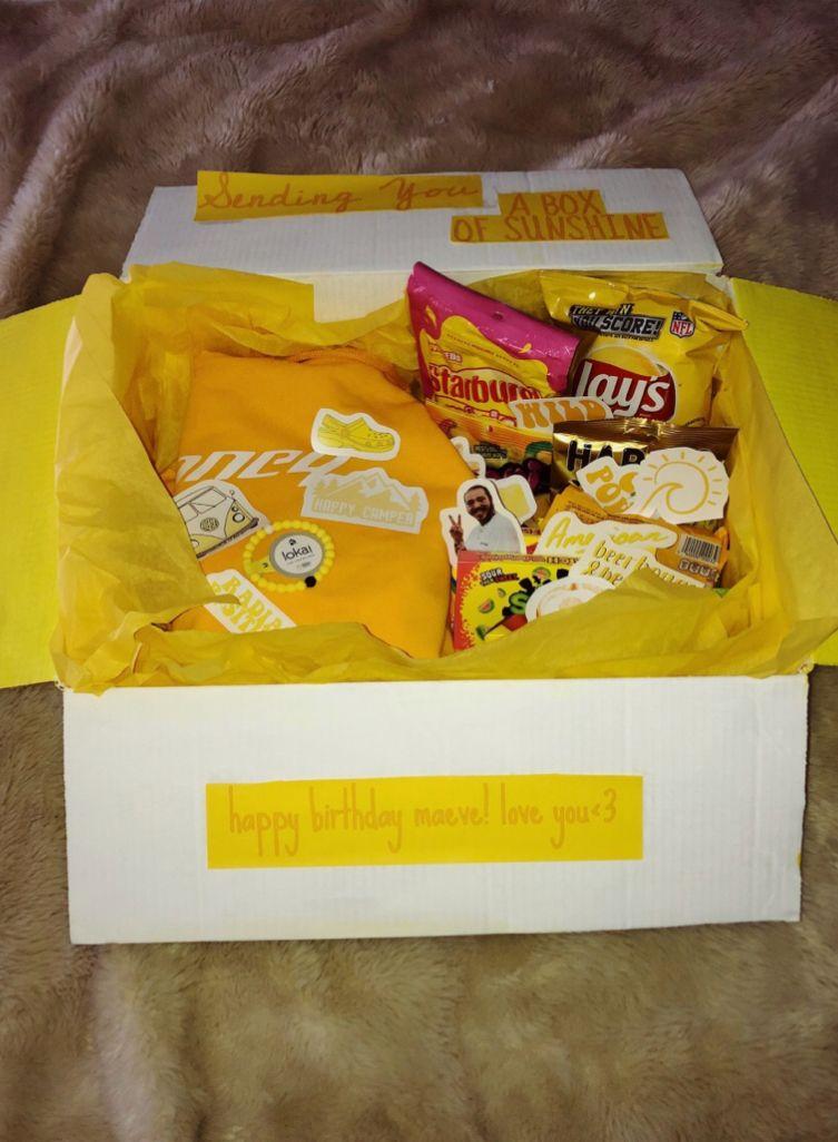 Idea by lizzie lank ) on Idk Cute birthday gift, Box of