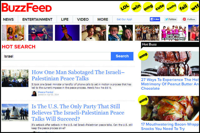 5 Times BuzzFeed Hated Israel in 2014   Communities Digital News