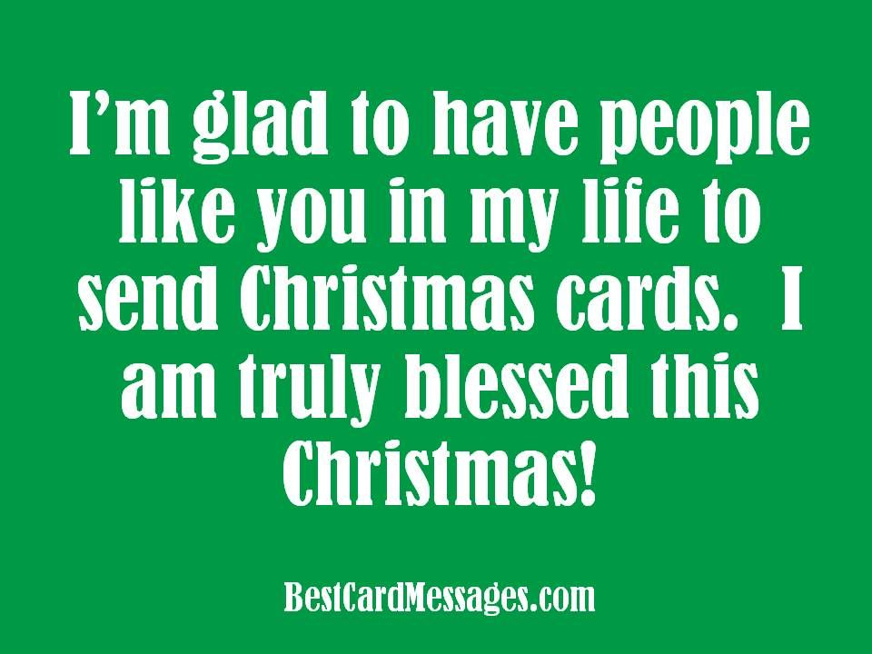 Christmas messages to write in a Christmas Card Use these - christmas cards sample