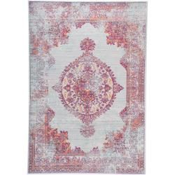 Photo of benuta carpet Visconti multicolor / blue 80×150 cm – vintage carpet in used look benuta