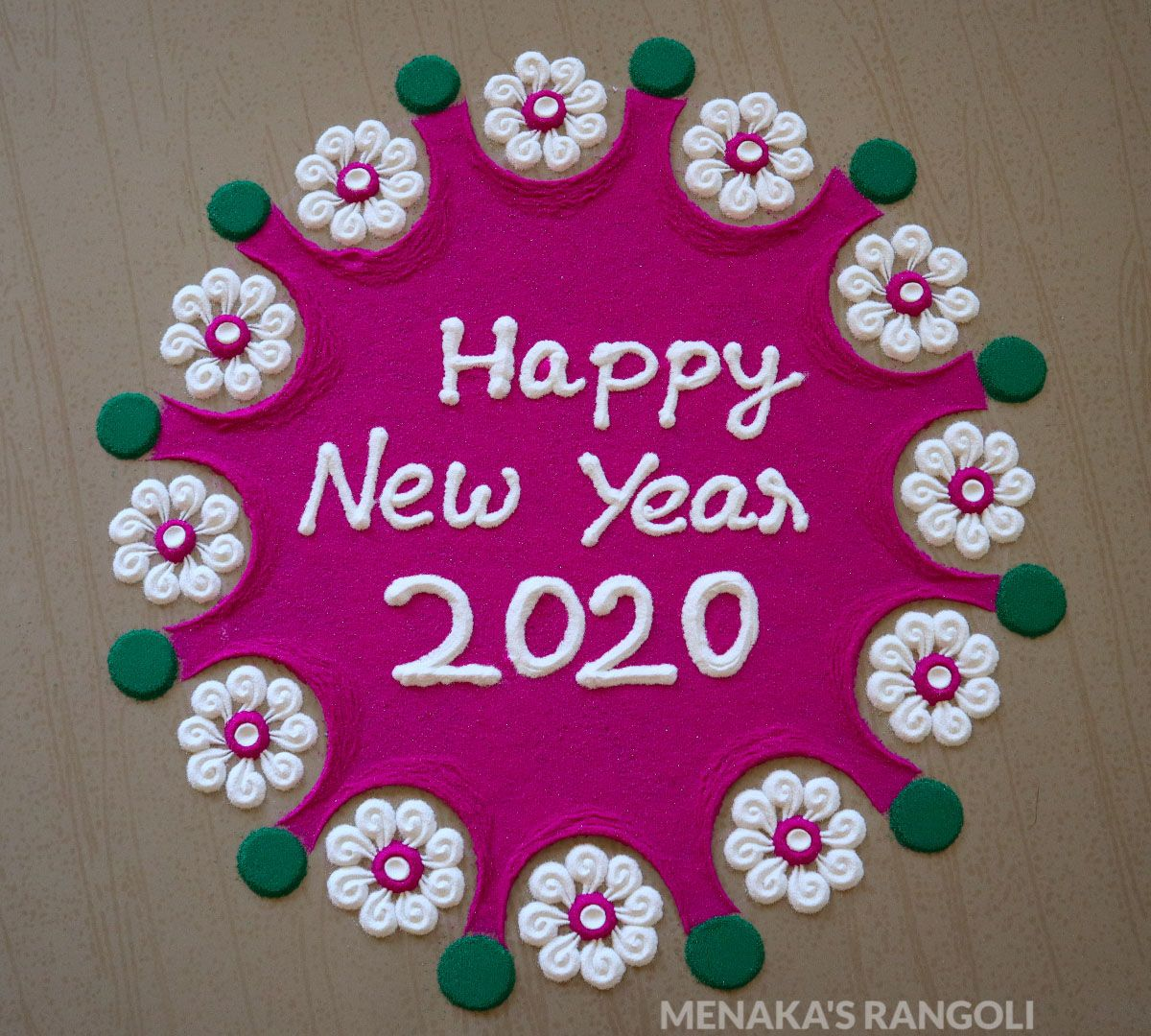 Pin by Menaka's Rangoli on Color Rangoli Designs Rangoli