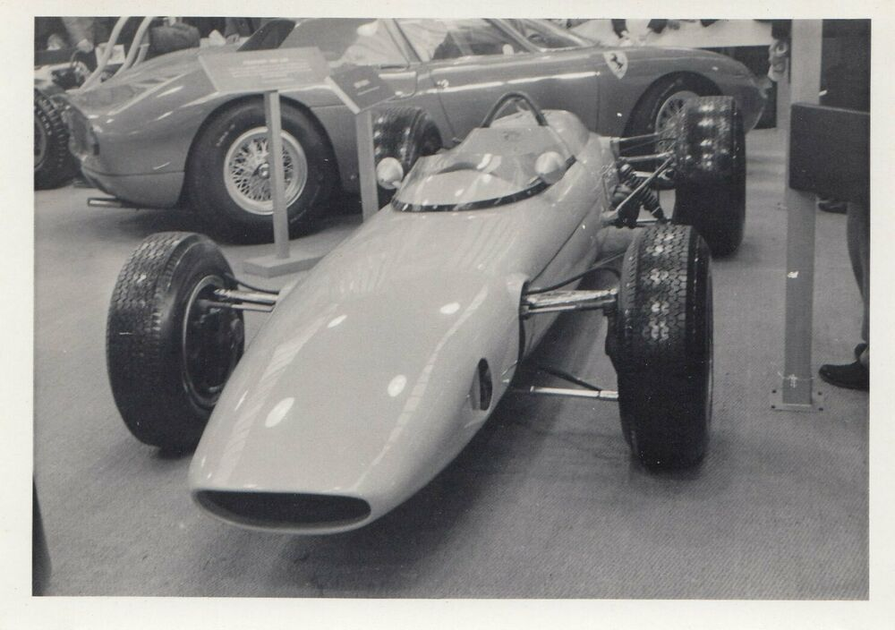1963 BRP BRM MK1 GP RACING CAR SHOW OLYMPIA 1964 ORIGINAL