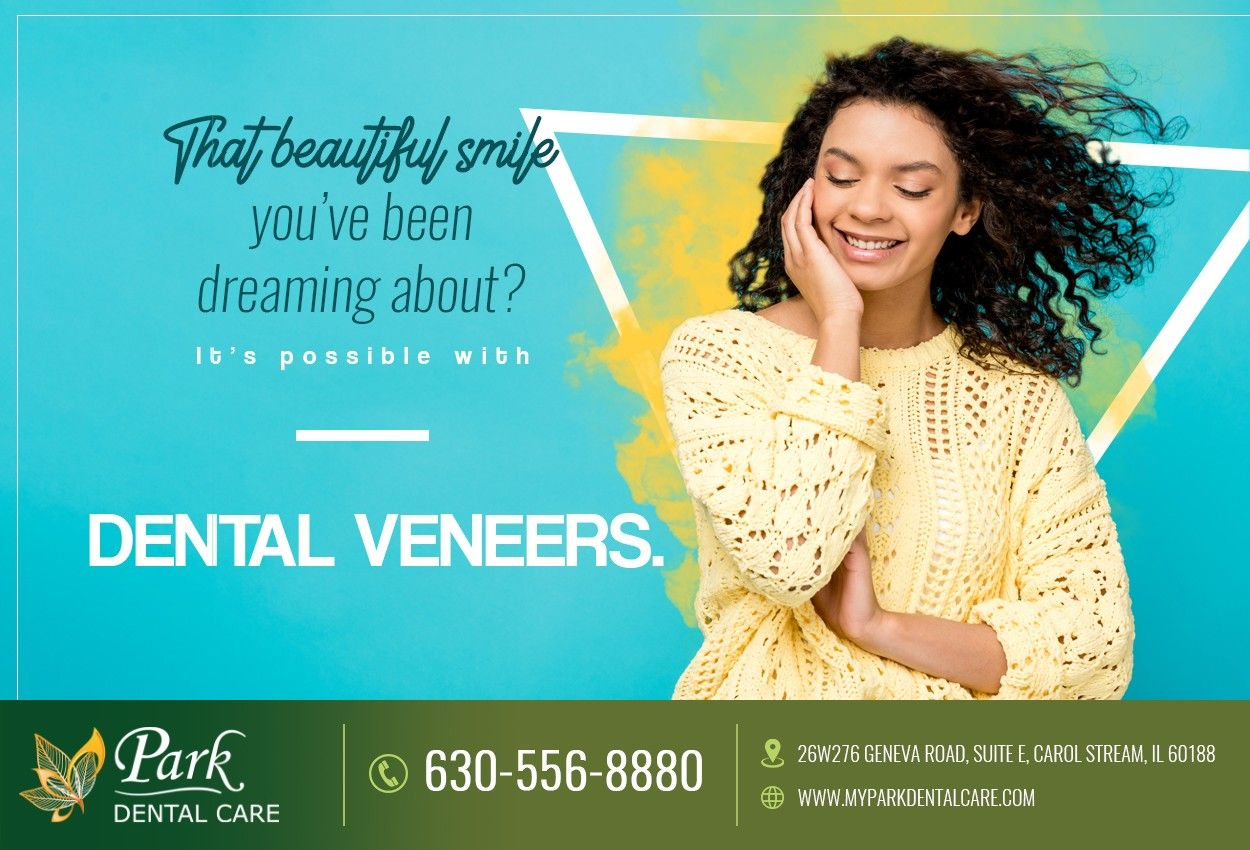 Veneers are a versatile solution for hiding imperfections