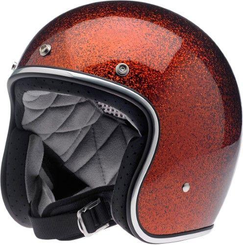 Biltwell Adult 2017 Bonanza Motorcycle Helmet Rootbeer 2xl Chrome Open Face Motorcycle Helmets Helmet Vintage Helmet