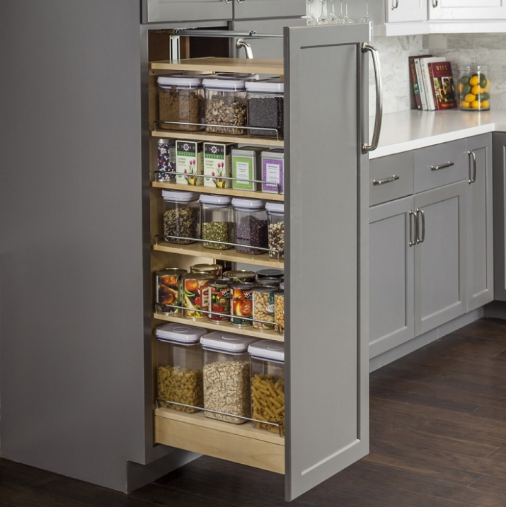 Pull Out Pantry Shelves Sliding Pantry Shelves Slide Out Shelves Llc Wood Pantry Cabinet Kitchen Design Pantry Cabinet