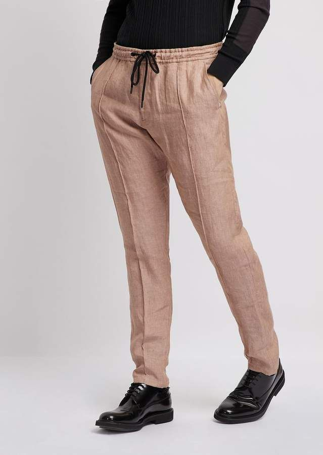 b0d1ae5e68 Pants in ultralight stretch cotton with stretch waist in 2019 ...