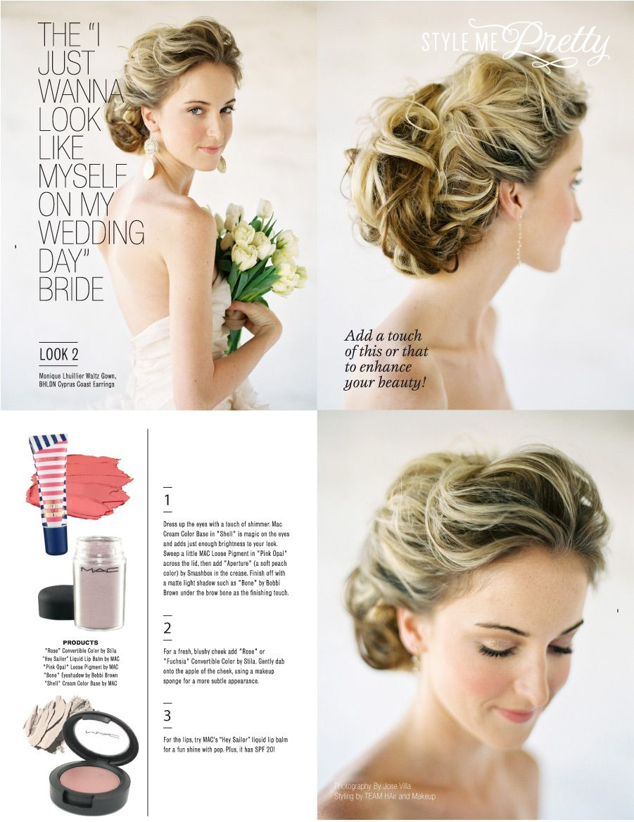 "a makeup guide for the ""I just want to look like myself"" Bride. See the full Beauty School 101 feature in our new E-Mag http://issuu.com/stylemepretty/docs/stylemepretty_fashion_beauty_magazine/32  Photography by http://josevillaphoto.com/, Makup and Styling by http://www.teamhairandmakeupservice.com/"