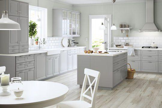 Cuisine Ikea Plein Feux Sur Les Nouveaux Modeles Cuisine Ikea Cuisine Bodbyn Cuisine Ikea Grise