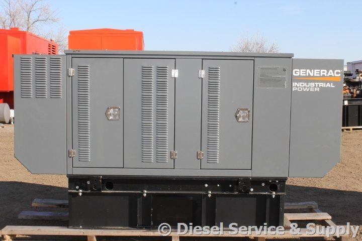 Generac 35 Kw Dieselgenerator With Sound Attenuated Enclosure Http Dieselserviceandsupply Com Used Generators Gener Locker Storage Diesel Generators Storage